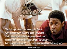 Remember The Titans Quotes