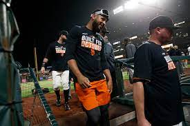 SF Giants celebrate playoff-clinching ...