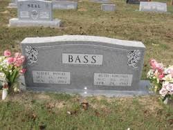Ruth Virginia Morton Bass (1905-1992) - Find A Grave Memorial