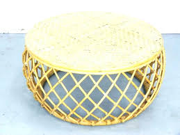 round rattan coffee table side tables round rattan side table wicker coffee creative design pertaining to