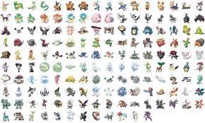 Pokemon Go Evolution Chart Of All Generations Complete List