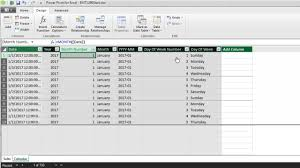 Calendar From Excel Data Excel Magic Trick 1299 Automatic Calendar Table In Data Model New In Excel 2016