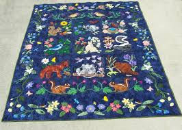 Quilts by Rosemary: Woodland Creatures Quilt by Joyce Tomcho & Woodland Creatures Quilt by Joyce Tomcho Adamdwight.com