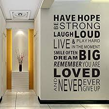 Delma Inspirational Wall Decals Quotes Word Wall Sticker Quotes Impressive Wall Decal Quotes
