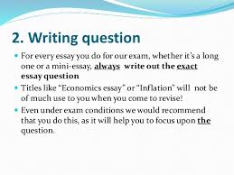 economic essay writing tips tips for writing research paper
