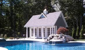custom 12 x 20 poolhouse