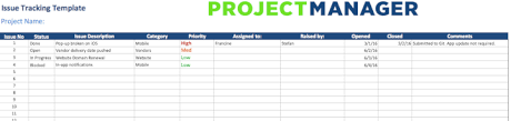 Issue Tracker Template 50 Free Excel Templates To Make Your Life Easier Updated