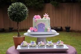 a fairy garden cake for a little girl turning 7 on cake central