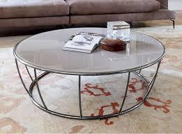 tonin casa amburgo coffee table with beige glass top