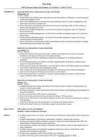 It Infrastructure Engineer Resume Sample Principal Infrastructure Engineer Resume Samples Velvet Jobs 1