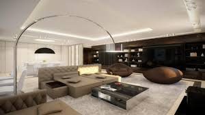 Large Living Room Design Amazing Open Plan Living Room Interior Design With Sofa Bed Using