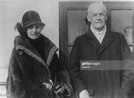 English novelist John Galsworthy with his wife, Ada Nemesis Pearson... News  Photo - Getty Images