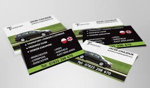 Transport Jacek Chajduk Business Cards Web Graphic
