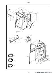 bobcat 331 331e 334 d series excavator parts manual preliminary enlarge