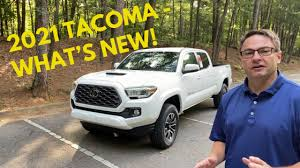 New 2021 toyota tacoma truck double cab sr tss off road. What S New For 2021 Toyota Tacoma New Tacoma Trims Colors Features Youtube