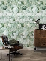 Behang Marble Mosaic Groen 974 X 280 Cm