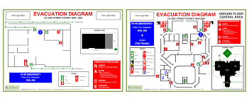 workplace emergency management   evacuation diagrams  fire    compliant evacuation diagrams