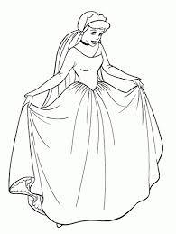 Coloriage Princesse En Ligne New Cendrillon Activite Princesses