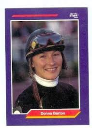 Amazon.com: Donna Barton trading card (Horse Racing) 1992 Jockey Star #15:  Entertainment Collectibles