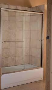Glass Doors For Bathtub Bathroom Marvelous Sliding Shower Door For Bathtub Smoothing