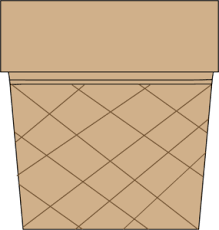 ice cream cone without ice cream clipart. Unique Cream Ice Cream Cone Without And Without Clipart MyCuteGraphics