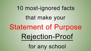 most ignored statement of purpose facts to write the best 10 most ignored statement of purpose facts to write the best statement of purpose to graduate school