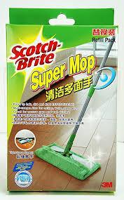 scotch brite super mop refill washable microfiber cloth