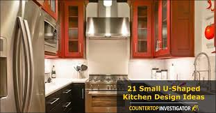 Apartment Kitchen Design Ideas Pictures Interesting 48 Small UShaped Kitchen Design Ideas