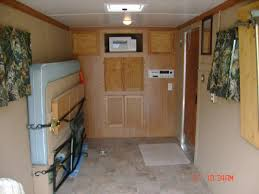 Cabinets For Cargo Trailers Cargo Trailer Camper Conversion Ideas This Is Just A 6 X 12 But