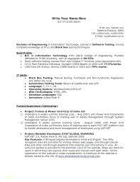Freshers Resume Sample Career Fresher Mechanical Engineering Resume