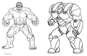 incredible hulk coloring page sheet printable pages iron man free hul
