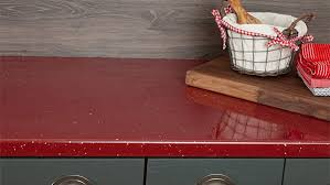 red sparkle laminate worktops andromeda gallery