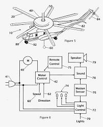 Unique wiring diagram for ceiling fan motor patent us20070057805 bination ceiling fan with light and