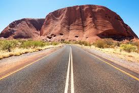 melbourne to uluru best routes