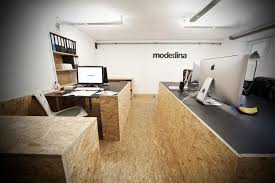 office wood. Top Office Interior Ideas : Awesome Modern Black Wood Room Design Granit Floor And
