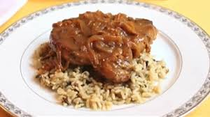 Chef Johnu0027s Smothered Pork Chops Recipe  AllrecipescomCountry Style Smothered Pork Chops