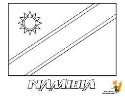 Printable Coloring Pages Of Country Flags Coloring Page