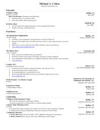 Word 2007 Resume Templates Template Microsoft Word 24 Resume Templates Free Download New Cv 17