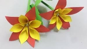 Paper Flower Making Video Video D I Y Paper Flowers Clip D I Y Paper Flowers Dowload Video