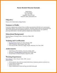 Pleasant Resume Examples Nursing Graduate For Your New Nurse
