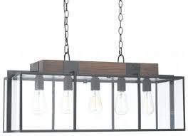 chandeliers rectangular wood and iron chandelier arturo 8 light in arturo 8 light rectangular
