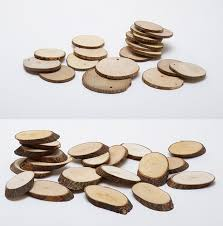 wooden tree log slices