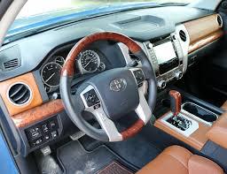 2017 toyota tundra 1794 edition interior