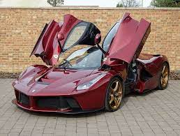 The ferrari laferrari sportscar is on dubai motor show 2019 on november Rosso Rubino Ferrari Laferrari For Sale At 2 795 000 In The Uk Gtspirit