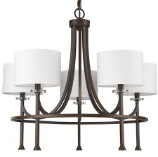 kara oil rubbed bronze chandelier drum shades 28 wx24 h