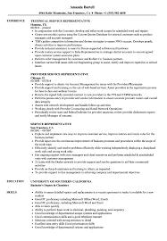 Service Representative Resume Samples Velvet Jobs