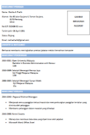 Contoh Resume Lengkap Dan Terbaik