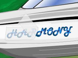 Install Boat Name Lettering and Decals Step 11