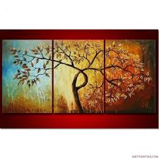 large wall paintingsWall Paintings Amazing Image Titled Design Three Panel Light Up