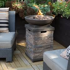 propane patio fire pit. Fascinating Gas Outdoor Fire Pits Propane Heating With Charcoals And Sofa Cushions Flowers Patio Pit A